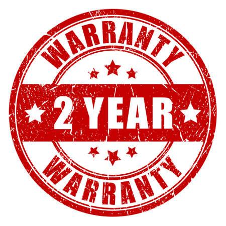 surety: Two year warranty stamp