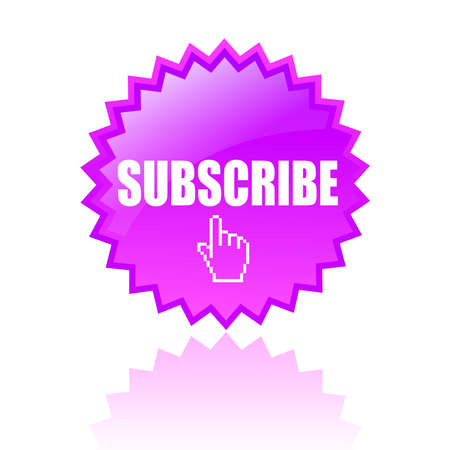 subscribe: subscribe icon Illustration