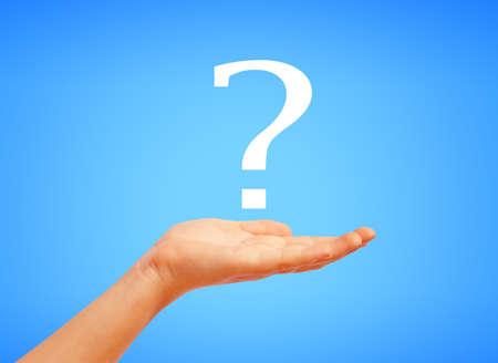 point d interrogation: Question symbol