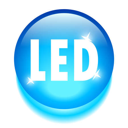 Led technology icon Stock Vector - 20008025