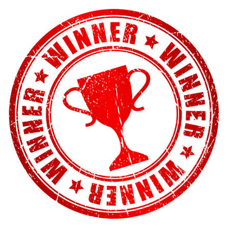 star award: Winner stamp