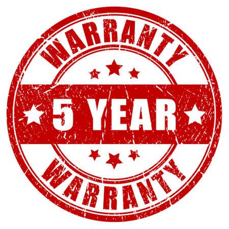 surety: Cinque anni di garanzia timbro