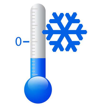 Eiskalte Symbol Standard-Bild - 20673086