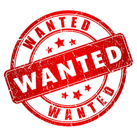 hunted: Wanted stamp