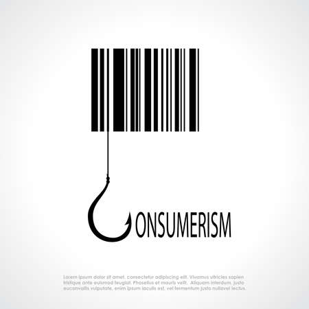crook: Consumerism symbol Illustration