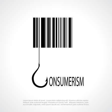 consumerism: Consumerism symbol Illustration