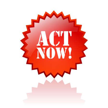 in action: Actúe ahora estrella