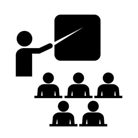 corsi di formazione: Icona di formazione Vettoriali