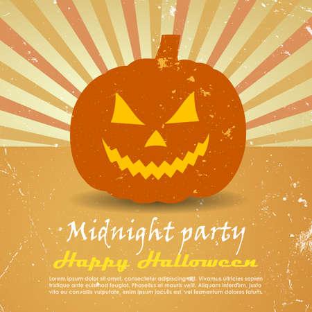 Halloween poster Illustration