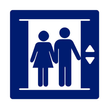 elevator: Elevator sign