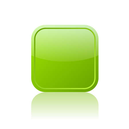 Square web button Vector