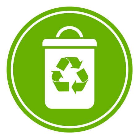 Recycle Abfallbehälter