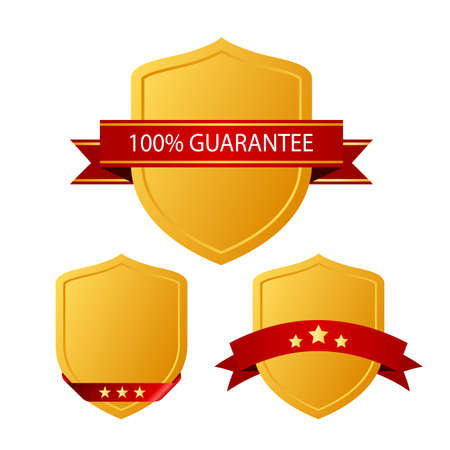 Guarantee icons Vector