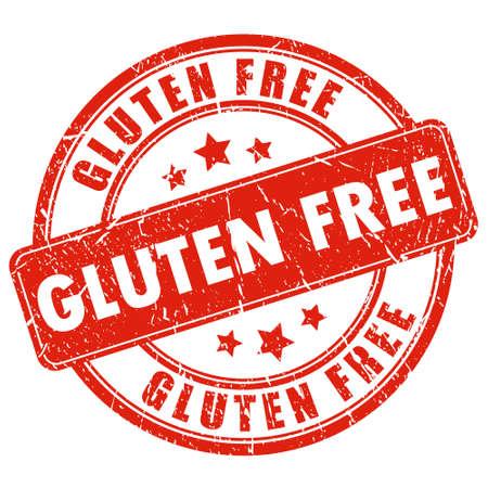 Sello libre de gluten Ilustración de vector