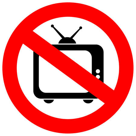 restrictions: No tv sign