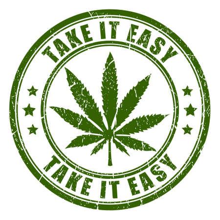 rastaman: Cannabis rastaman stamp