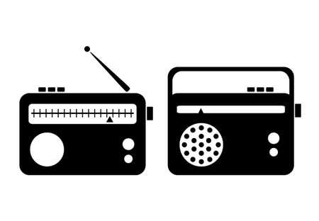 radio button: Radio icon Illustration