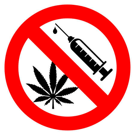 No drugs sign Stock Vector - 24011105