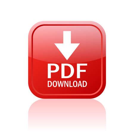 Pdf ダウンロード ボタン  イラスト・ベクター素材
