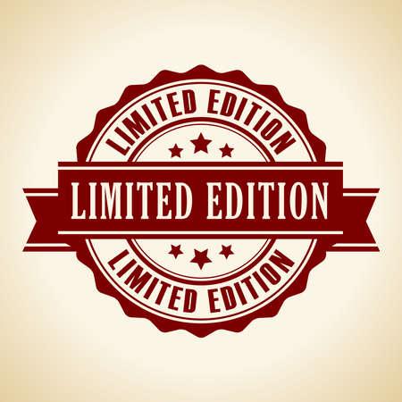 Icono de edición limitada Ilustración de vector
