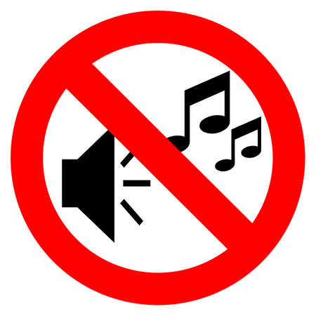No music sign Stock Vector - 24625834