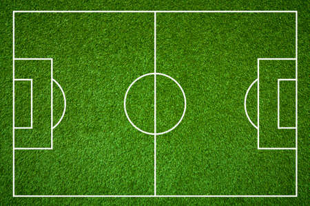 pitch: Football field