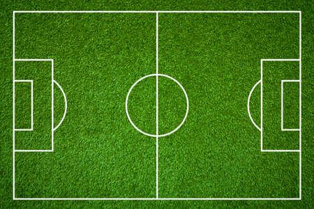 Terrain de football Banque d'images - 25096610