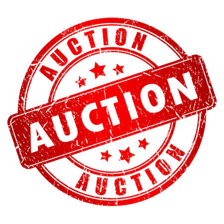 auctioneer: Auction stamp