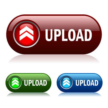 uploaded: Upload button