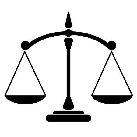 giustizia: Balance icona