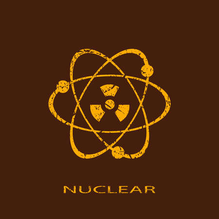 Nuclear icon Stock Vector - 26630138