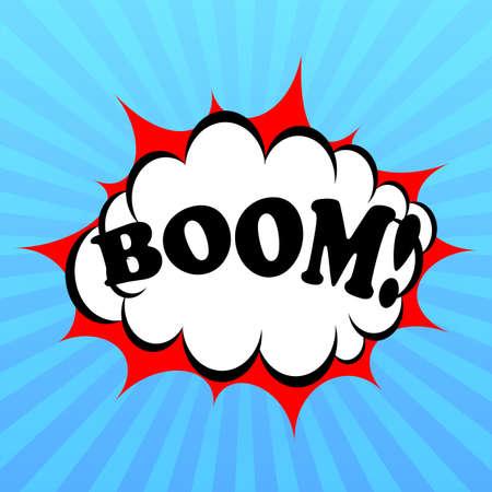 bursting: Boom poster