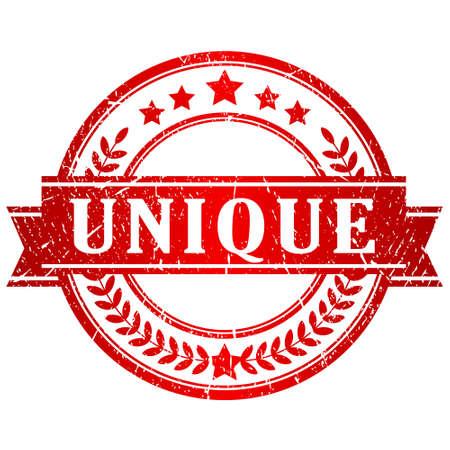 Unique stamp Vector