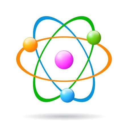 Atom icon Stock Vector - 27239354