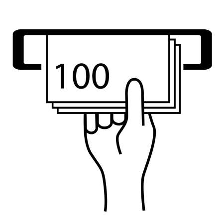 encash: Cash machine icon