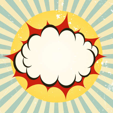 Explosieve boom pictogram Stock Illustratie