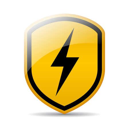 Bolt vector teken Stock Illustratie