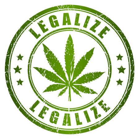 marihuana: Legalize stamp