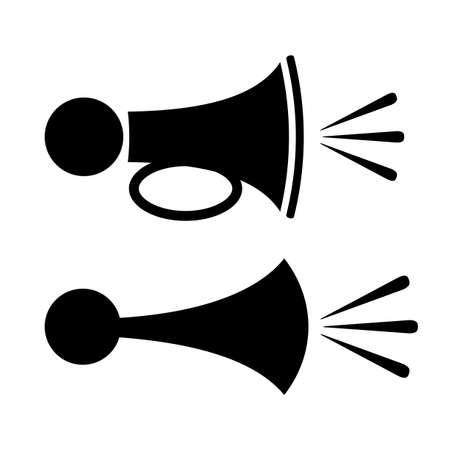 bocinas: Icono de Hornos Vectores