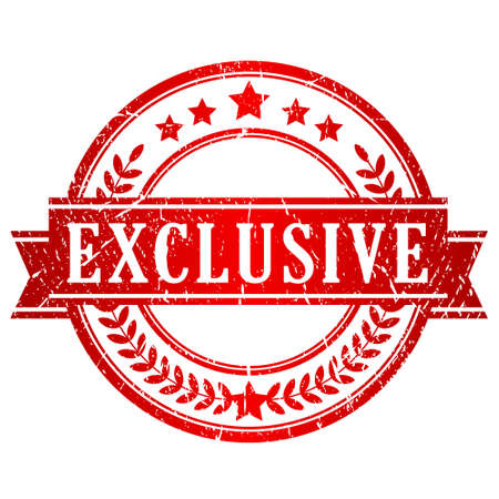 exclusive: Exclusive stamp Illustration