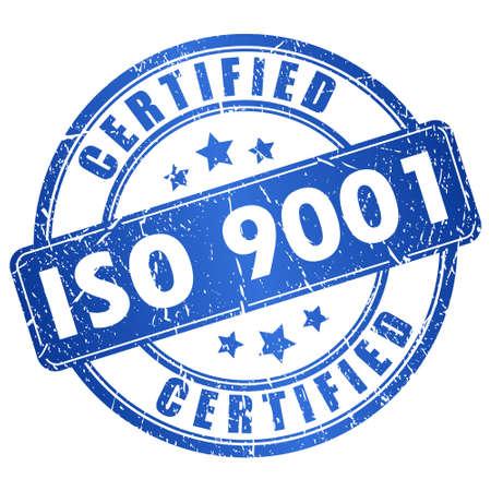 Iso 9001 gecertificeerd icoon