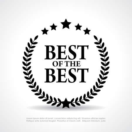 Best of the best Symbol Standard-Bild - 28415765