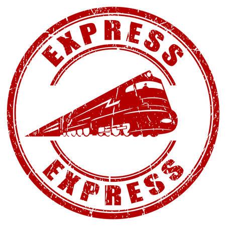 treno espresso: Timbro express