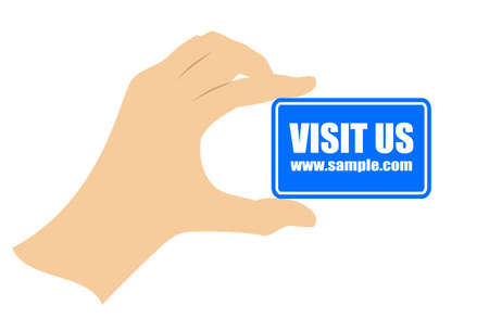 our: Visit our webpage card