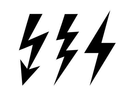 rayo electrico: Icono Perno