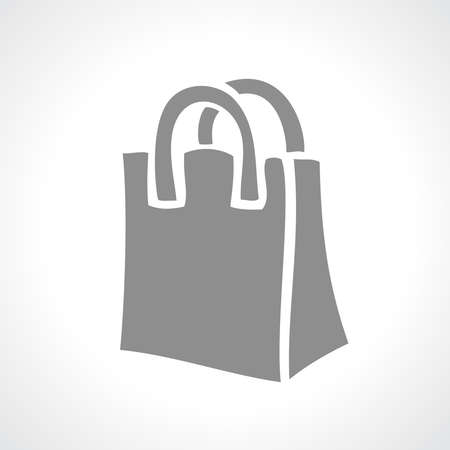 Shopping bag icon Illustration