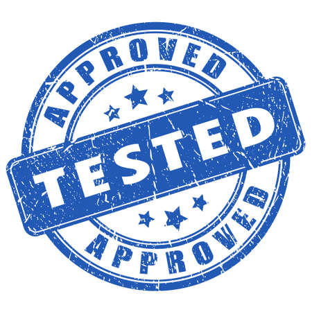 approved stamp: Sello Probado y aprobado