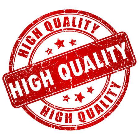 Timbre de haute qualité
