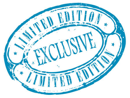 Exclusive limited edition stamp Vector