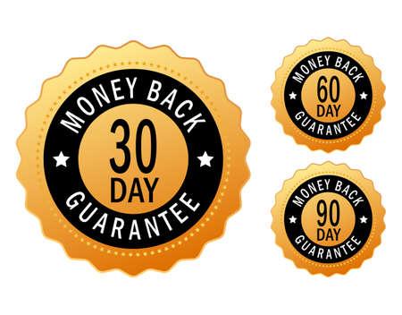 zufriedenheitsgarantie: Geld-zur�ck-Symbol